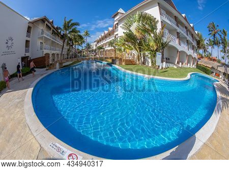 Punta Cana, Dominican Republic - March 11, 2020: Holiday Resort Be Live At The Dominican Republic, A