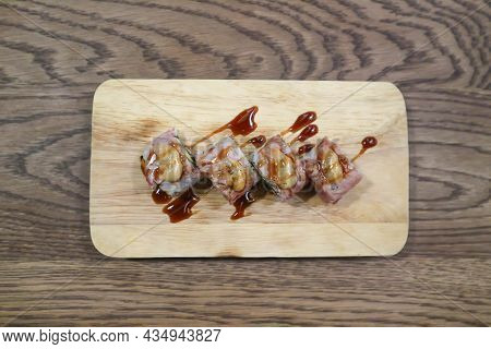 Rolls Or Japanese Roll, Maki For Serve