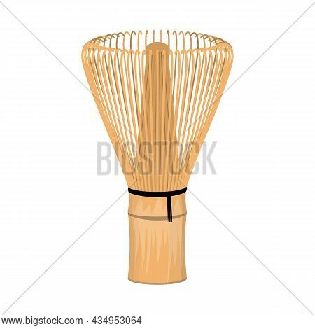 Vector Design Of Wire And Whisk Sign. Web Element Of Wire And Green Stock Symbol For Web.