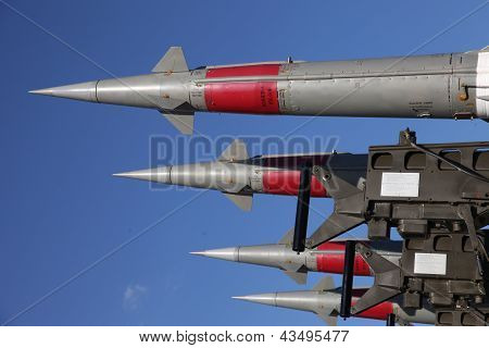 Missiles Standing In A Row