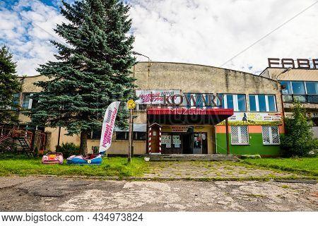 Kowary, Poland - August 07, 2021. Muzeum Sentymentow - Museum Of Sentiments In Retro Style