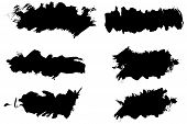 Vector - Grunge ink splat brush can be used for border text insertion or background poster