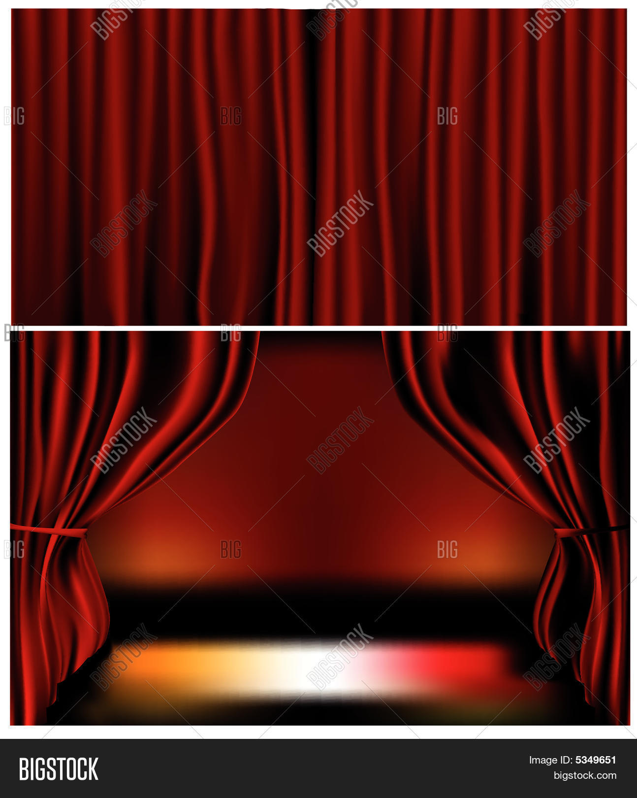 curtain red curtains dolls velvet gold accessory house fringe window