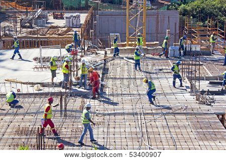 Construction Site At  Umhlanga Ridge Durban South Africa