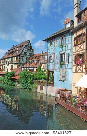Petite Venise,Colmar,Alsace,France