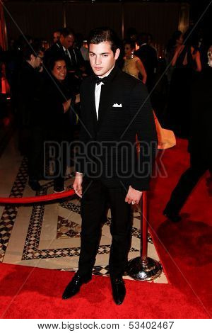 NEW YORK-SEP 17: Socialite Peter Brant, Jr. attends the 14th annual New Yorkers For Children Fall Gala at Cipriani 42nd Street on September 17, 2013 in New York City