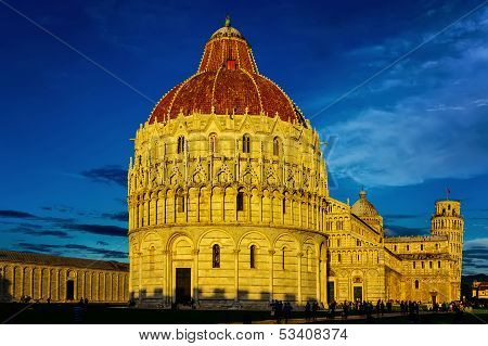 Miracle Square, Pisa, Tuscany, Italy