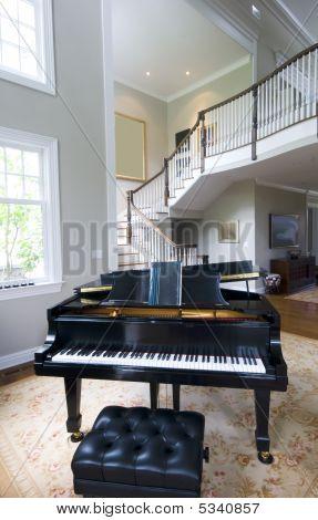 Grand Piano Living Room
