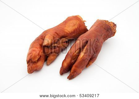Dry Smoked Pork Trotters