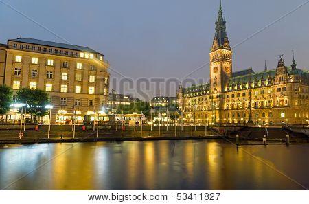 Hamburgs beautiful townhall
