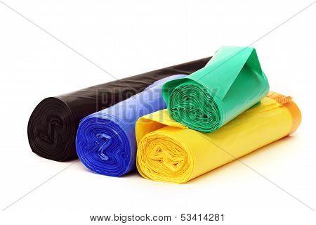 Garbage bags rolls