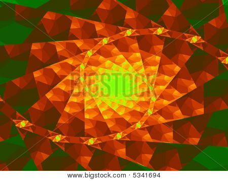 Abstract background or wallpaper with variety pattern of geometric figures poster
