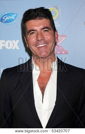 LOS ANGELES - NOV 4:  Simon Cowell at the 2013