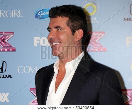 LOS ANGELES - NOV 4:  Simon Cowell at the 2013