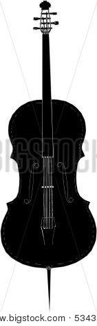 Violoncello Vector