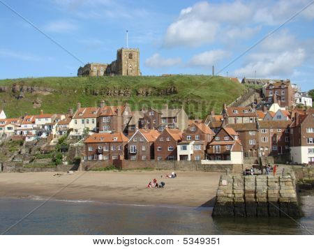 East Cliff Whitby,north Yorkshire