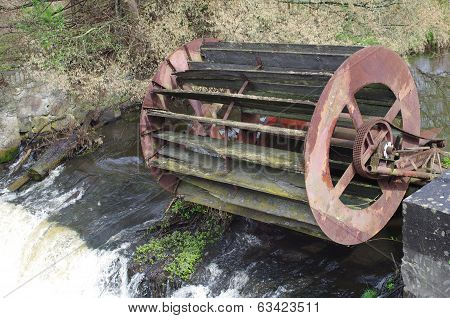 Old Inoperative Water Mill