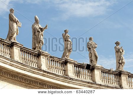St Peter's Square, Rome Italy