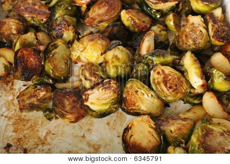 Caramelized  Brussel Sprouts