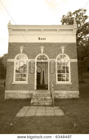 Vintage bank