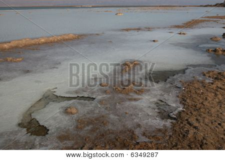 Dead Sea Scenic Salt View