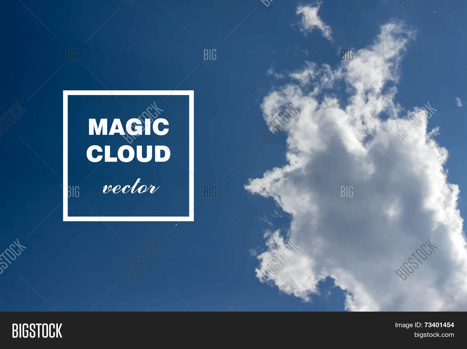 Vector Abstract Cloud Vector & Photo (Free Trial) | Bigstock