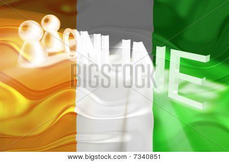 Flag Of Ivory Coast Wavy Online
