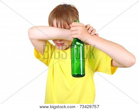 Kid With The Bottle