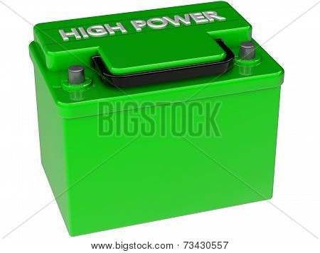 Ecological Concept Of Battery