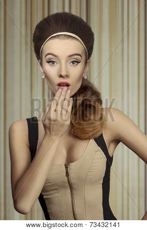 beautiful Surprised Girl