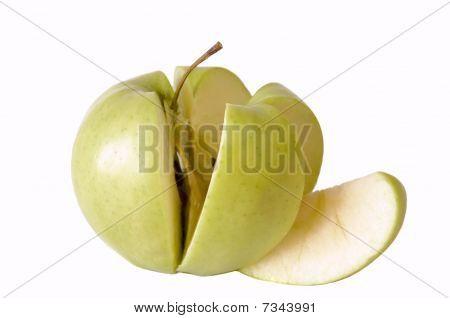 Sliced Organic Apple