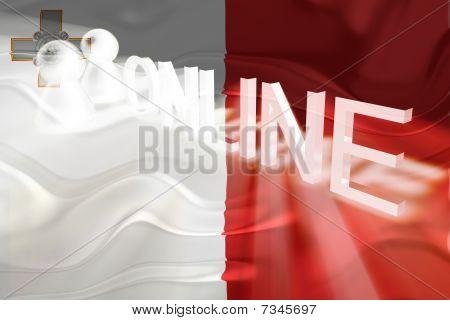 Flag Of Malta Wavy Online