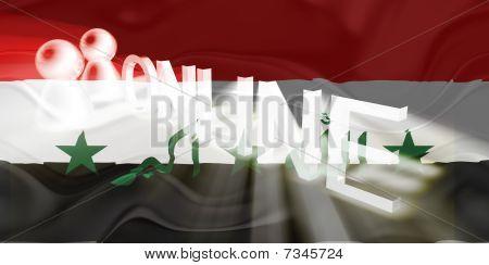 Flag Of Iraq Wavy Online