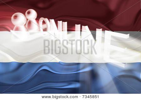 Flag Of Netherlands Wavy Online