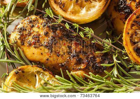 Homemade Lemon And Herb Chicken