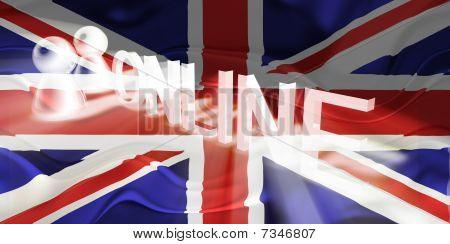 Flag Of United Kingdom Wavy Online