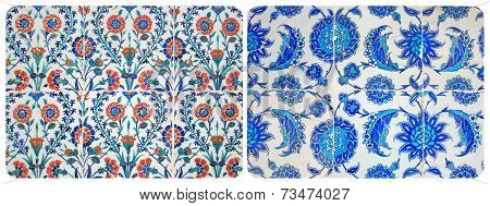Turkish Wall Tiles Couple