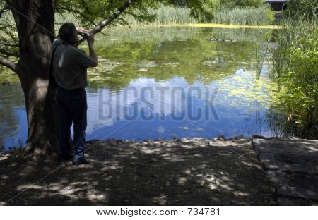 Shooting The Pond