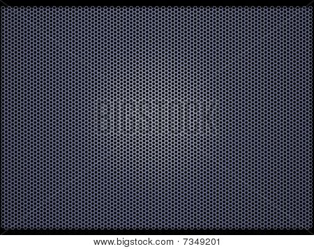 Mesh grille (3d illustration)