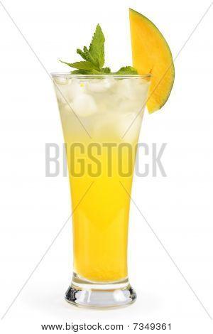 Mango Mint Cocktail.