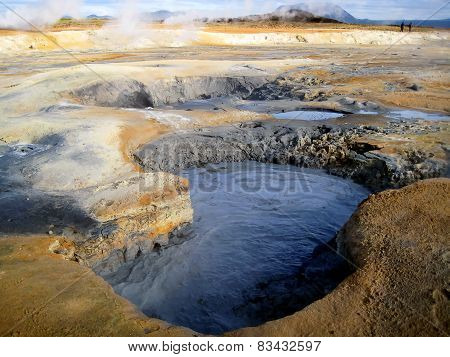 Hverarond geothermal area (Iceland)