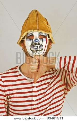 Weird Scary Mime
