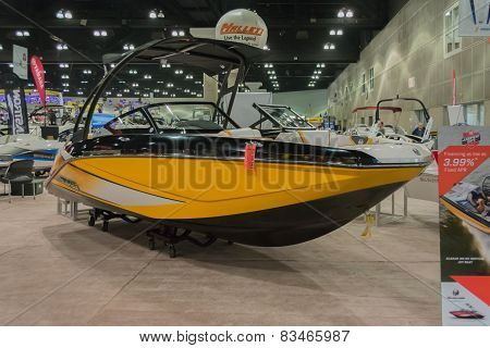 Scarab 215 Boat On Display