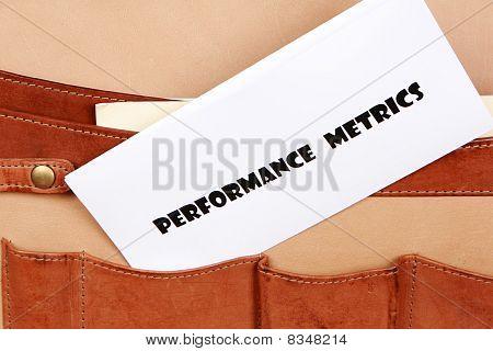 PERFORMANCE METRICS document