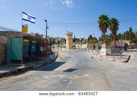 Street In Hebron