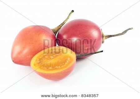 Tamarillo Or Tomate De Arbol (solanum Betaceum)