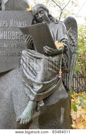 Necropolis. Tomb Of The Composer Tchaikovsky