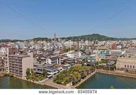 View Of Imabari Town, Shikoku Island, Japan