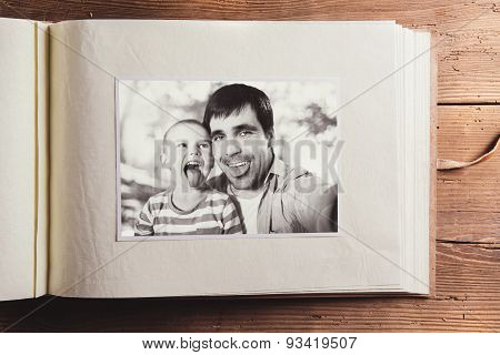 Fathers day composition