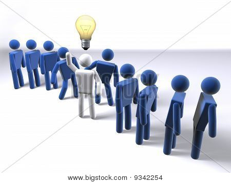 Stand out from the crowd with an idea